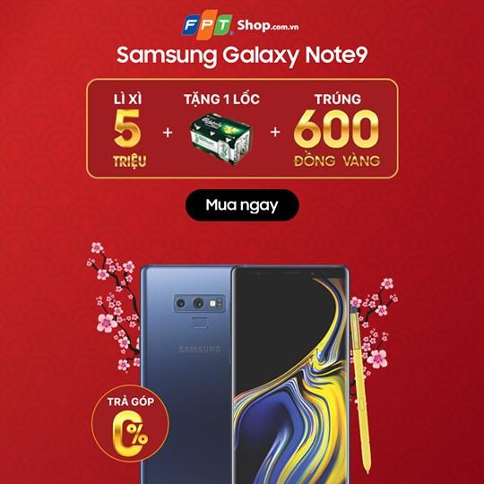 Samsung Galaxy Note 9 – Giảm ngay 5.000.000đ
