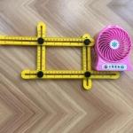 Dụng cụ tạo mẫu – Thước đo góc đa năng – Multi Angle Ruler