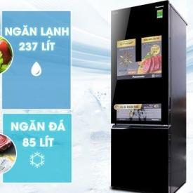 Tủ lạnh Panasonic NR-BC369QKV2, 322L, Inverter (Mới 2018)